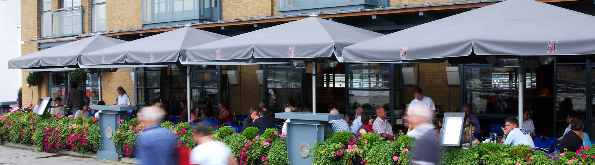 Butlers Wharf Parasols