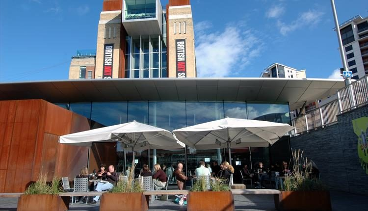 Baltic Centre for Contemporary Art Giant Parasols