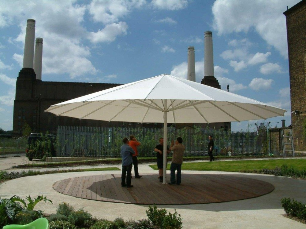 Battersea Power Station A8 Giant Parasol