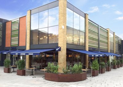 Carluccio's Retractable Awnings