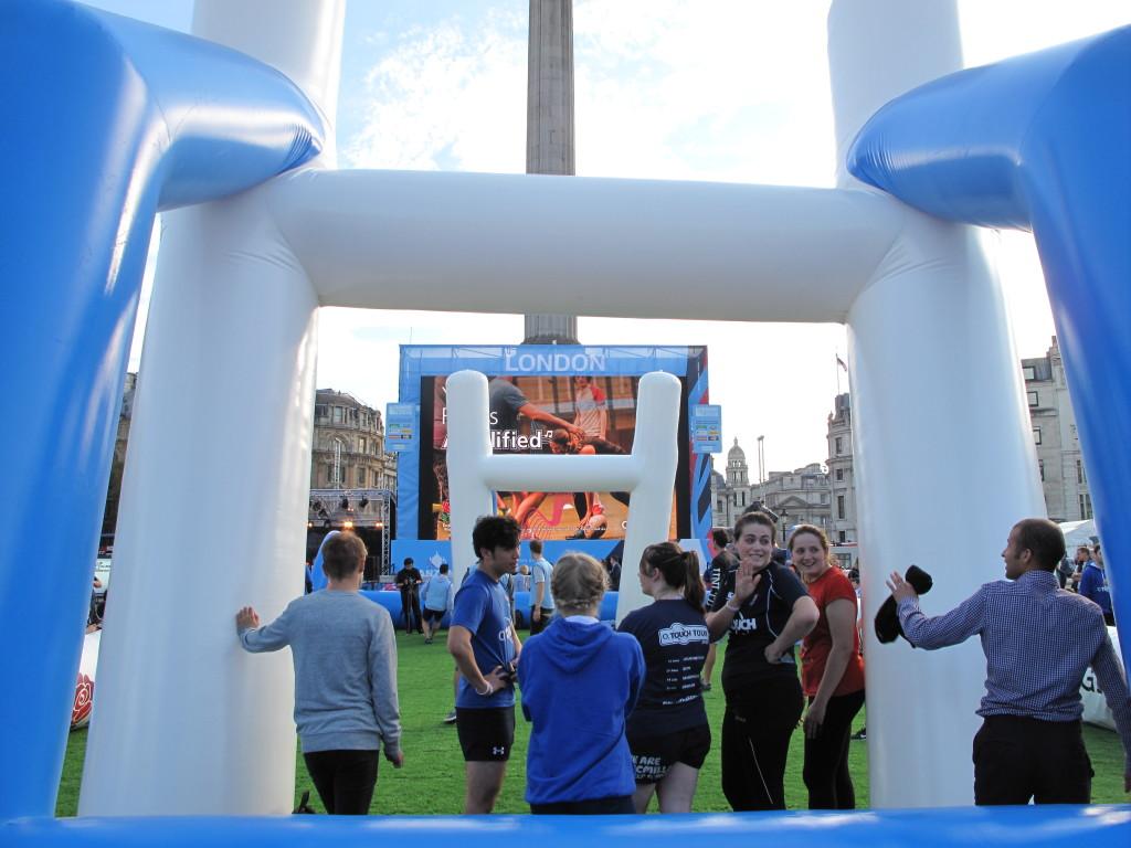 Rugby World Cup Trafalgar Square