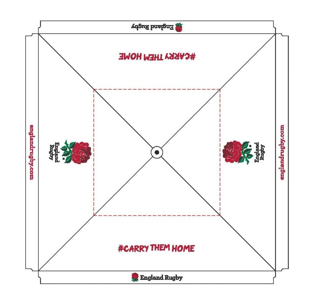 Rugby World Cup Giant Parasol Layout