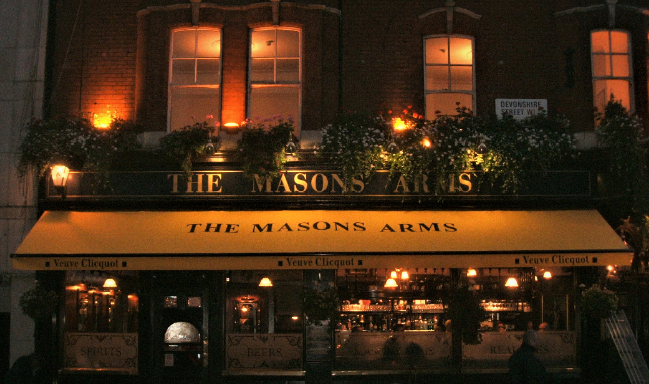 The Masons Arms Awning