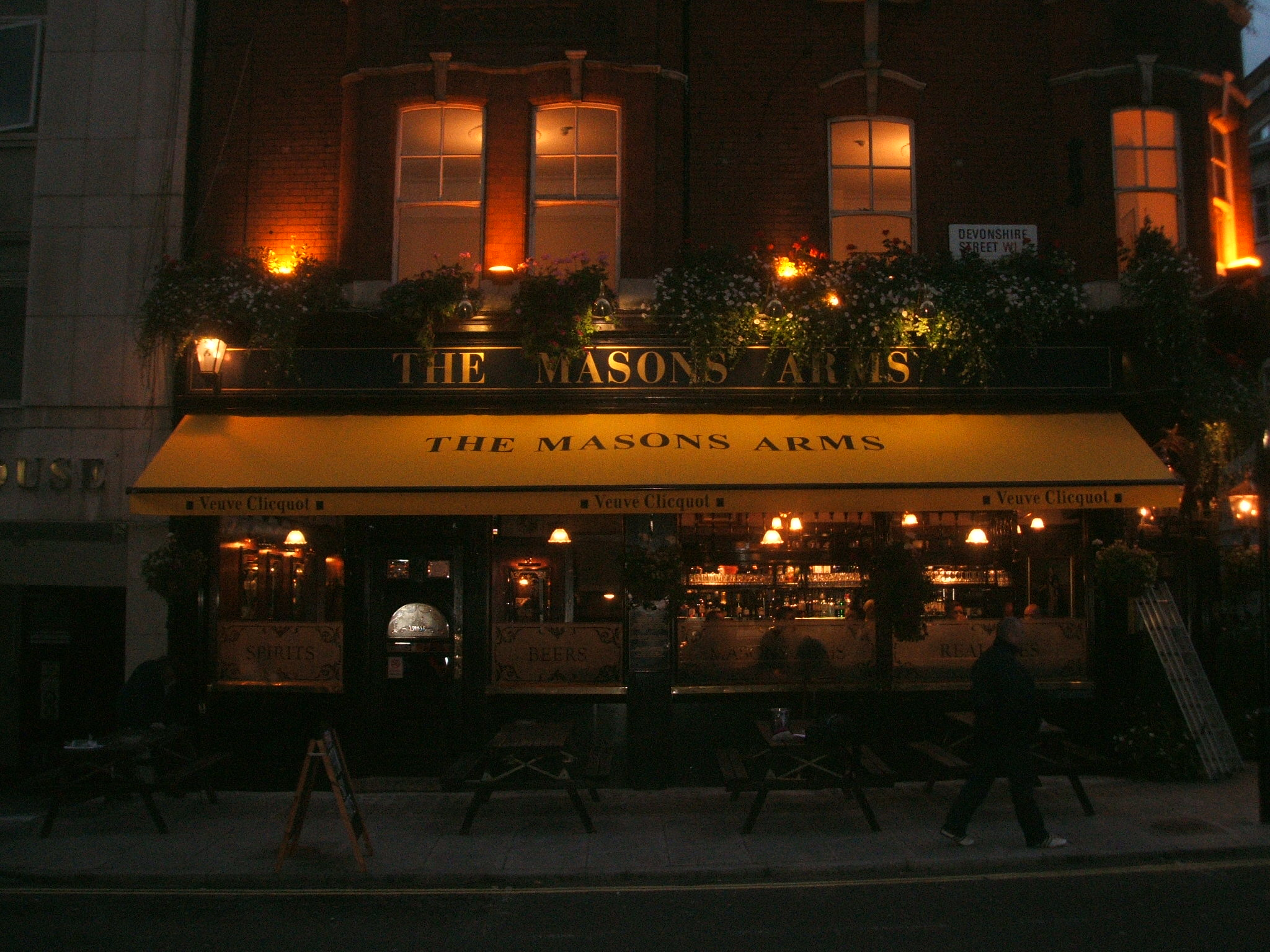 Masons Arms Awnings Folding Arm Topas