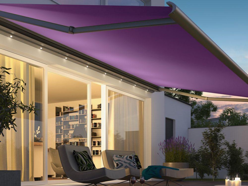 Cassita Awnings Purple