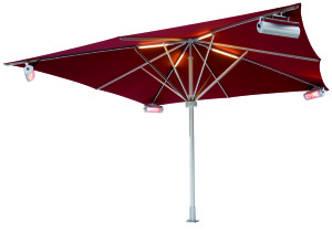 Heaters for Parasols