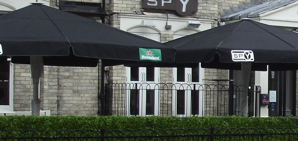 Spy Bar A4 Parasols